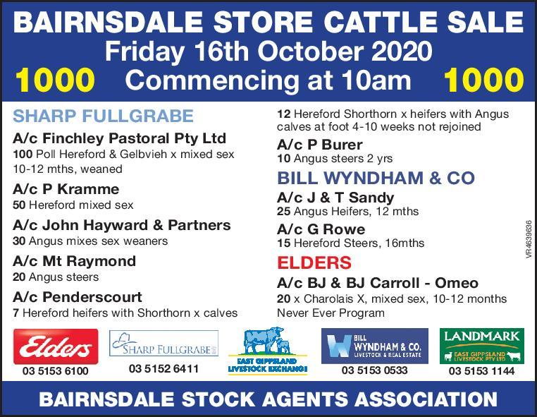 Bairnsdale Store Sale