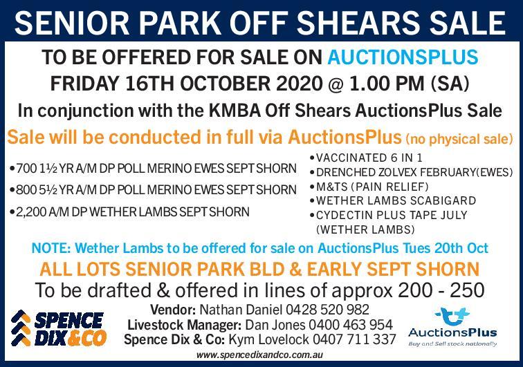 Senior Park off Shears Sale