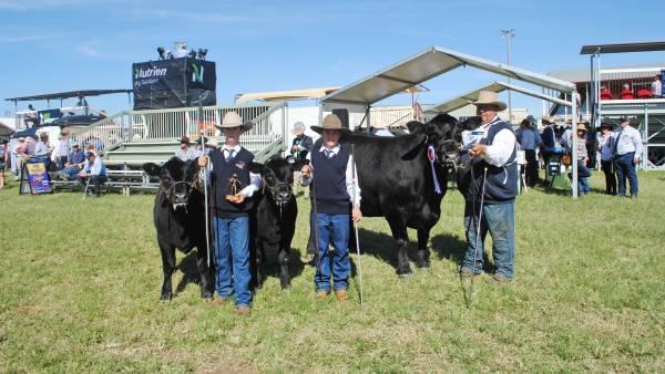 Beef 2021 grand champion females