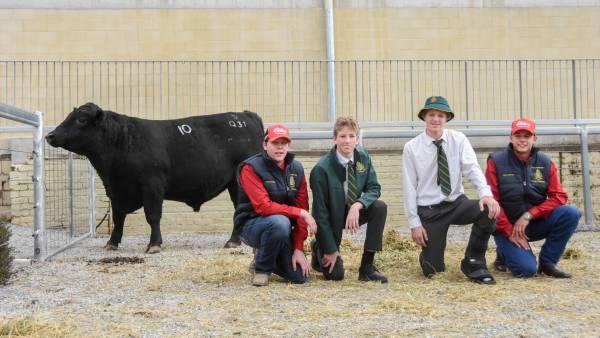 Students lead Farrer bulls to $10,838 average