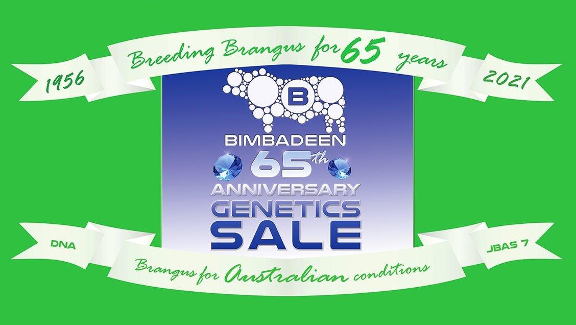 Bimbadeen 65th Anniversary Genetics Sale