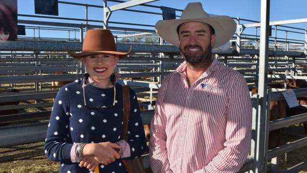 Faces from day two of the DM National Bull Sale