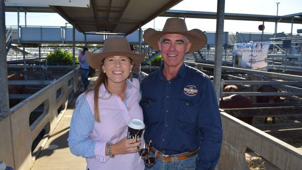 Faces from the 2021 Droughtmaster National Bull Sale
